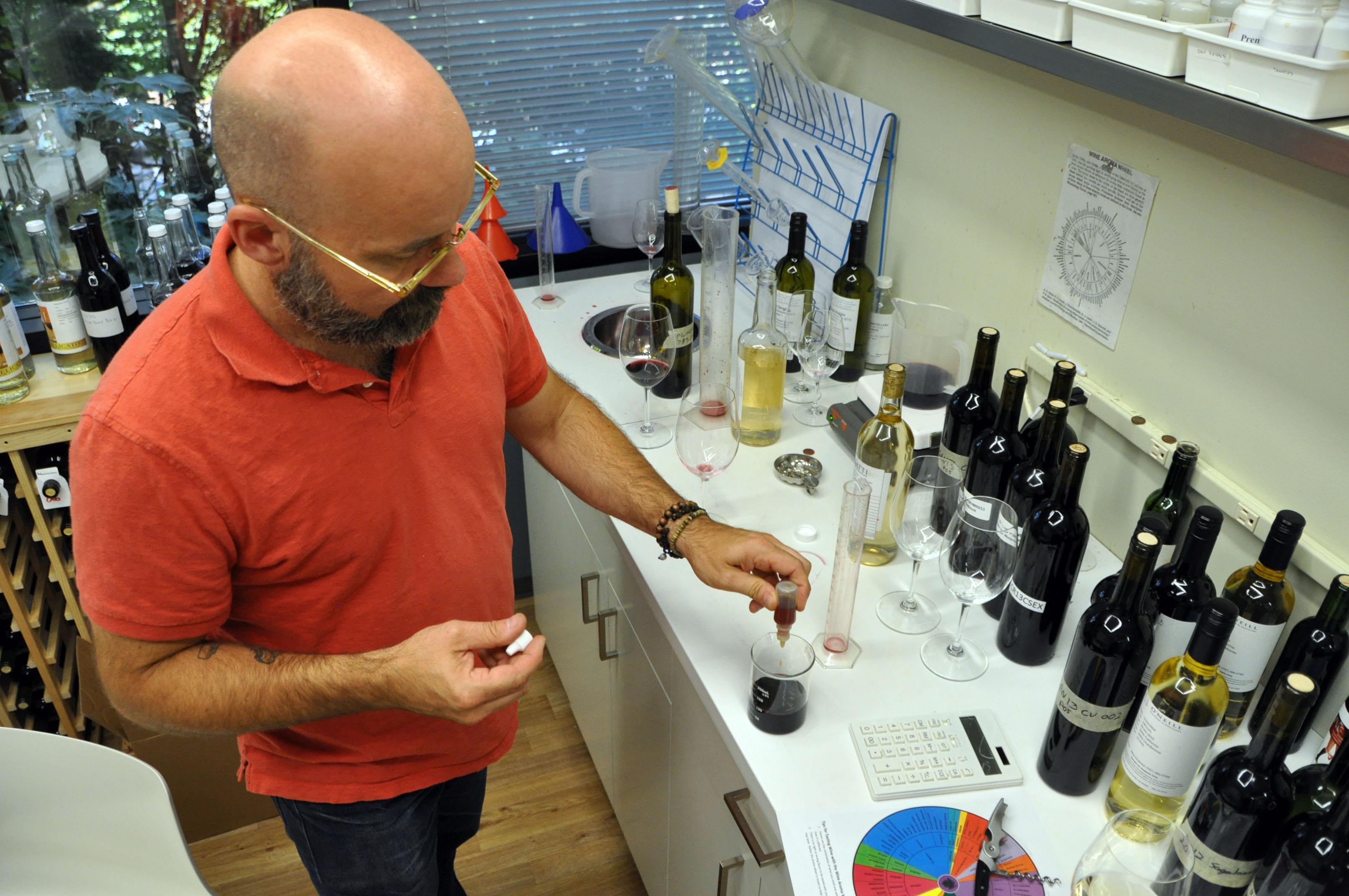 precept wine blending