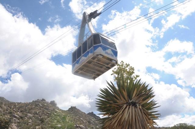 Abuquerque's Sandia Tramway