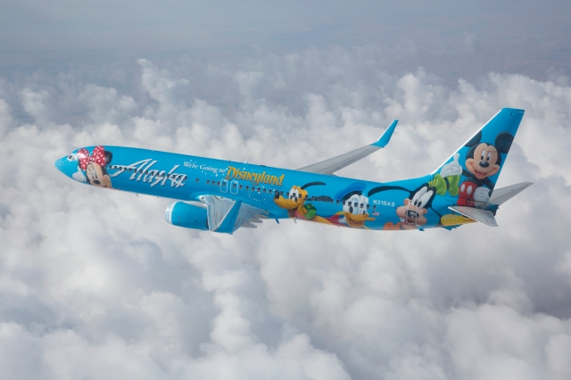 "Alaska Airlines ""Spirit of Disneyland II"""