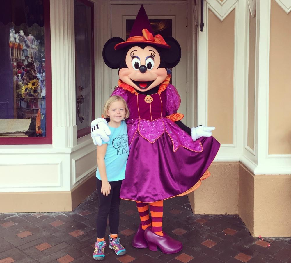 Disneyland Characters at Halloween
