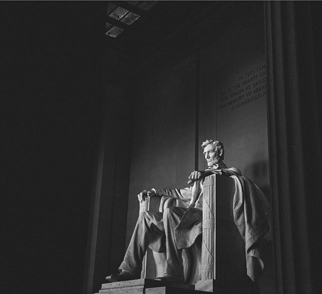 After completing my first full day in DC I was blown away. The amount of history and amazing architecture is crazy! Here's a shot from when I visited the Lincoln Memorial yesterday.