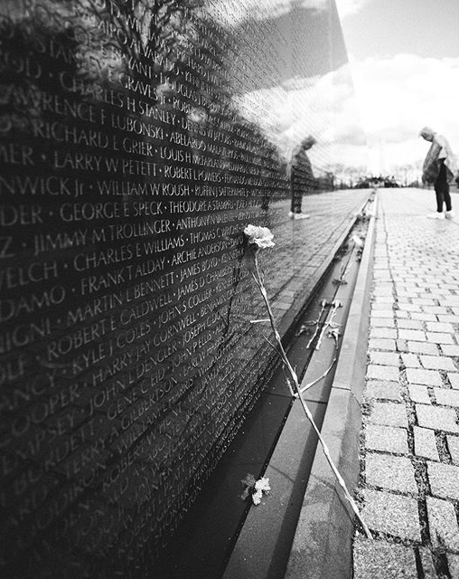 4.By far one of the most breath taking monuments in DC. The Vietnam memorial took my breath away. You could hear a pin drop as you walked along reading the countless names on the wall.