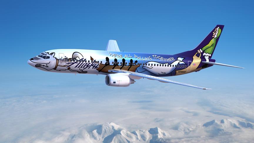 Alaska Airlines Beloved Spirit Of Alaska Statehood