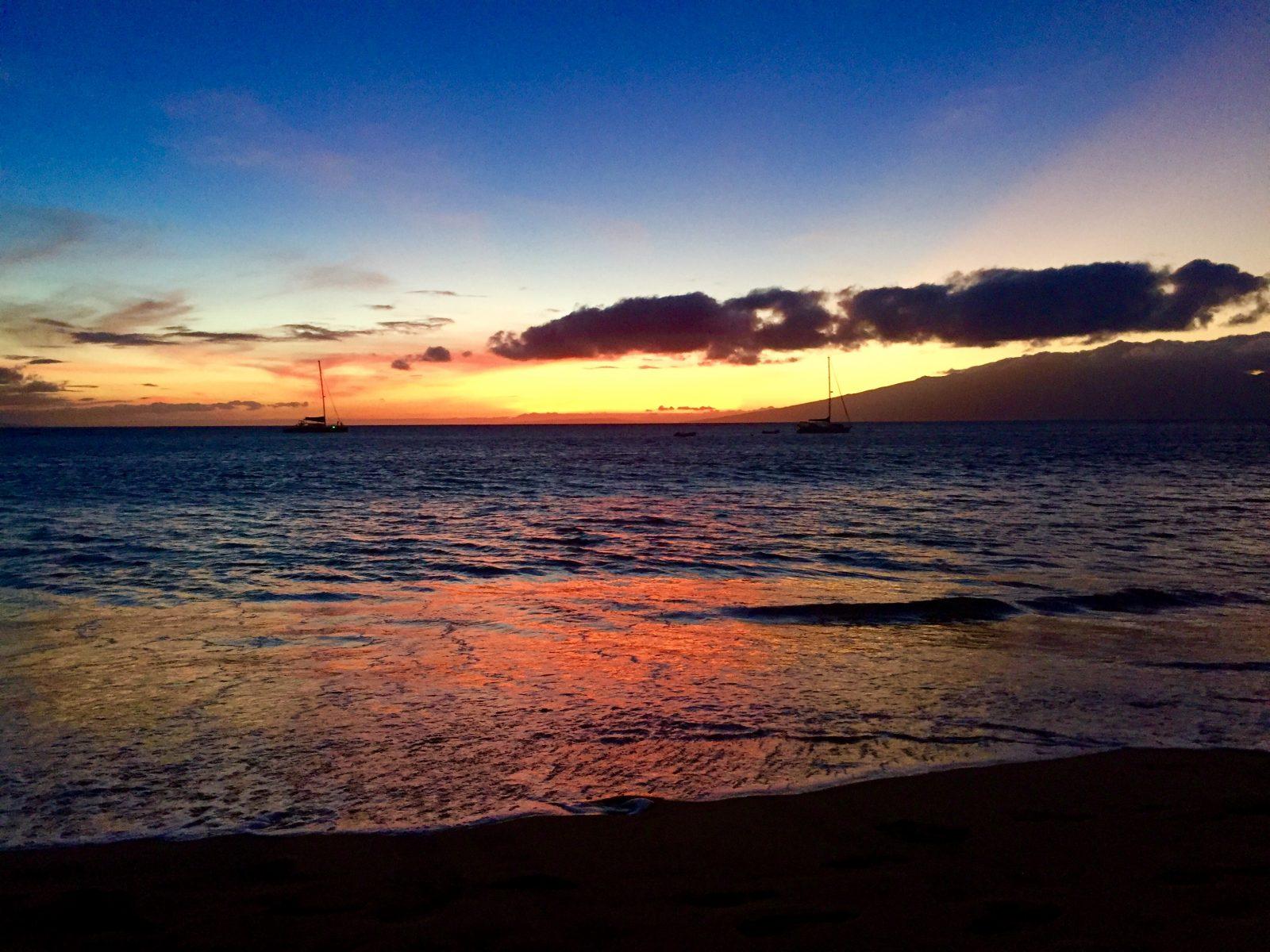 kaanapali sunset_Nikki Silver