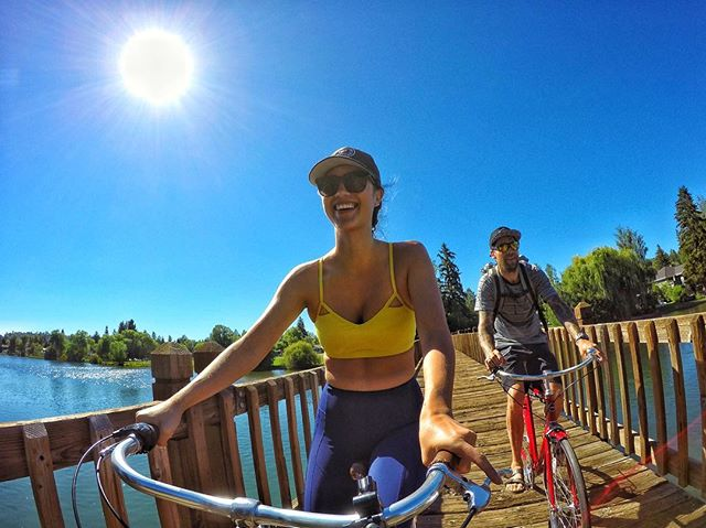 Sage Brush Cycles was was kind enough to get us setup with cruisers to spin around Drake Park and hit some breweries.