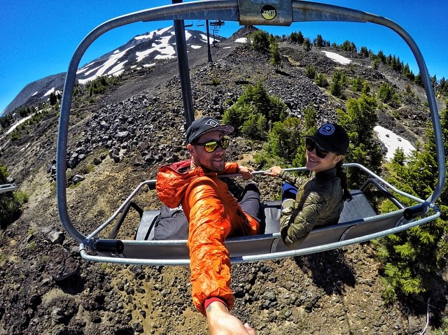 Headed up @mtbachelor to check out the summer scene.