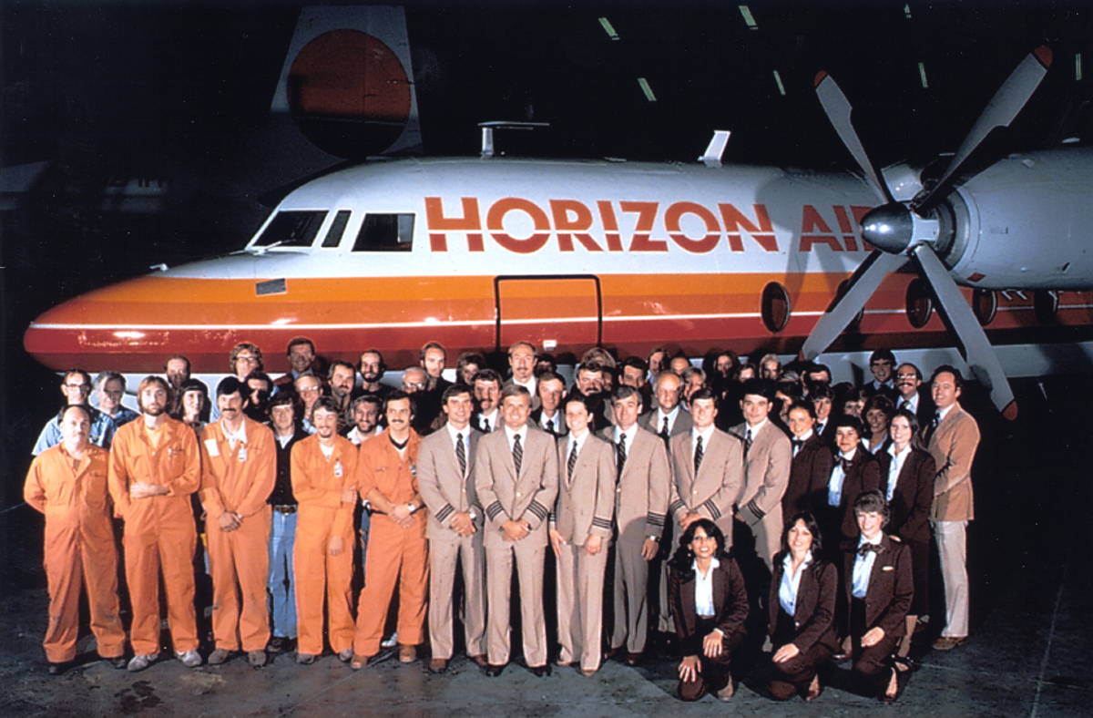 Original employees of Horizon Air.