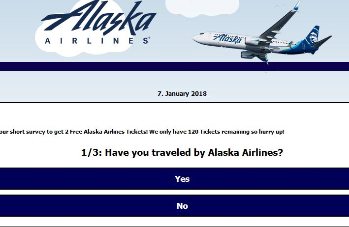 How to spot a scam ticket giveaway – Alaska Airlines Blog