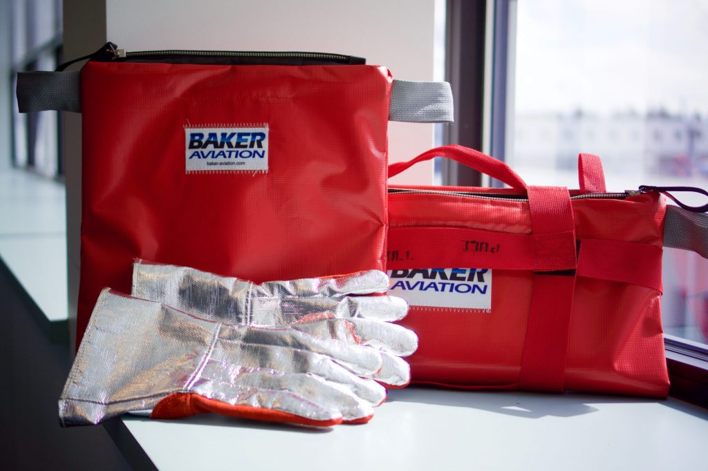 fire safety containment bags