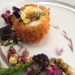 a gourmet version of the classic Scotch egg