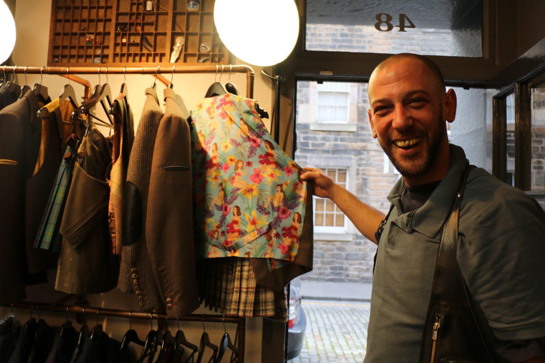 Scotland's celebrity kilt-maker