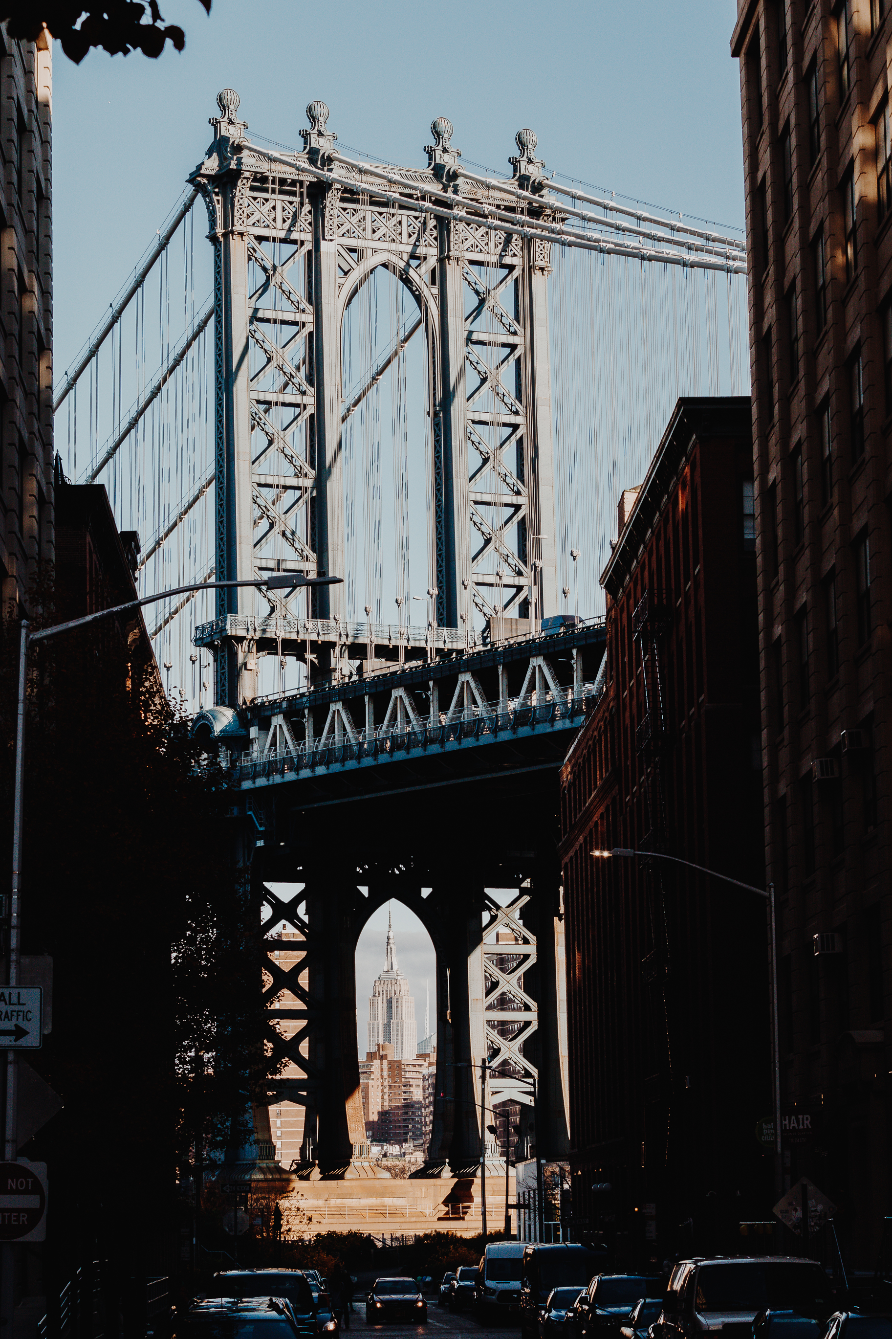 Some people focus only on the photo of the bridge that they miss the fact that the Empire State Building lines up perfectly underneath it if you stand in the right spot. this was a fun one to shoot since I've seen it in movies and TV so much.