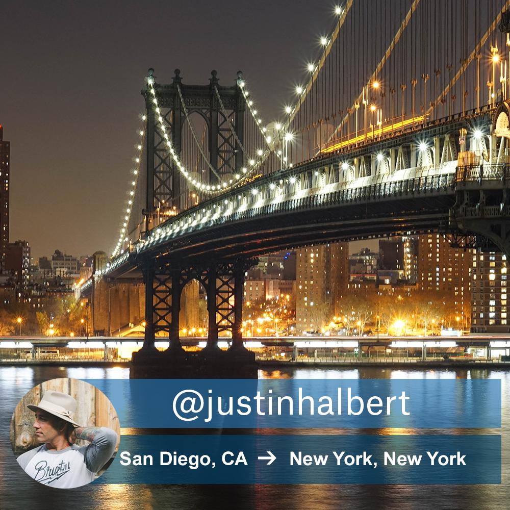 Justin Halbert Weekend Wanderer