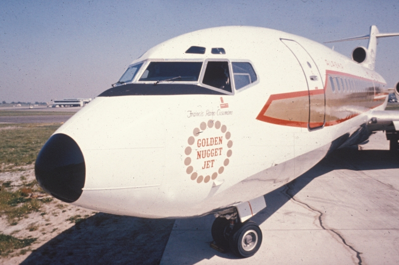 Alaska flew charters to Cuba on a Boeing 727.