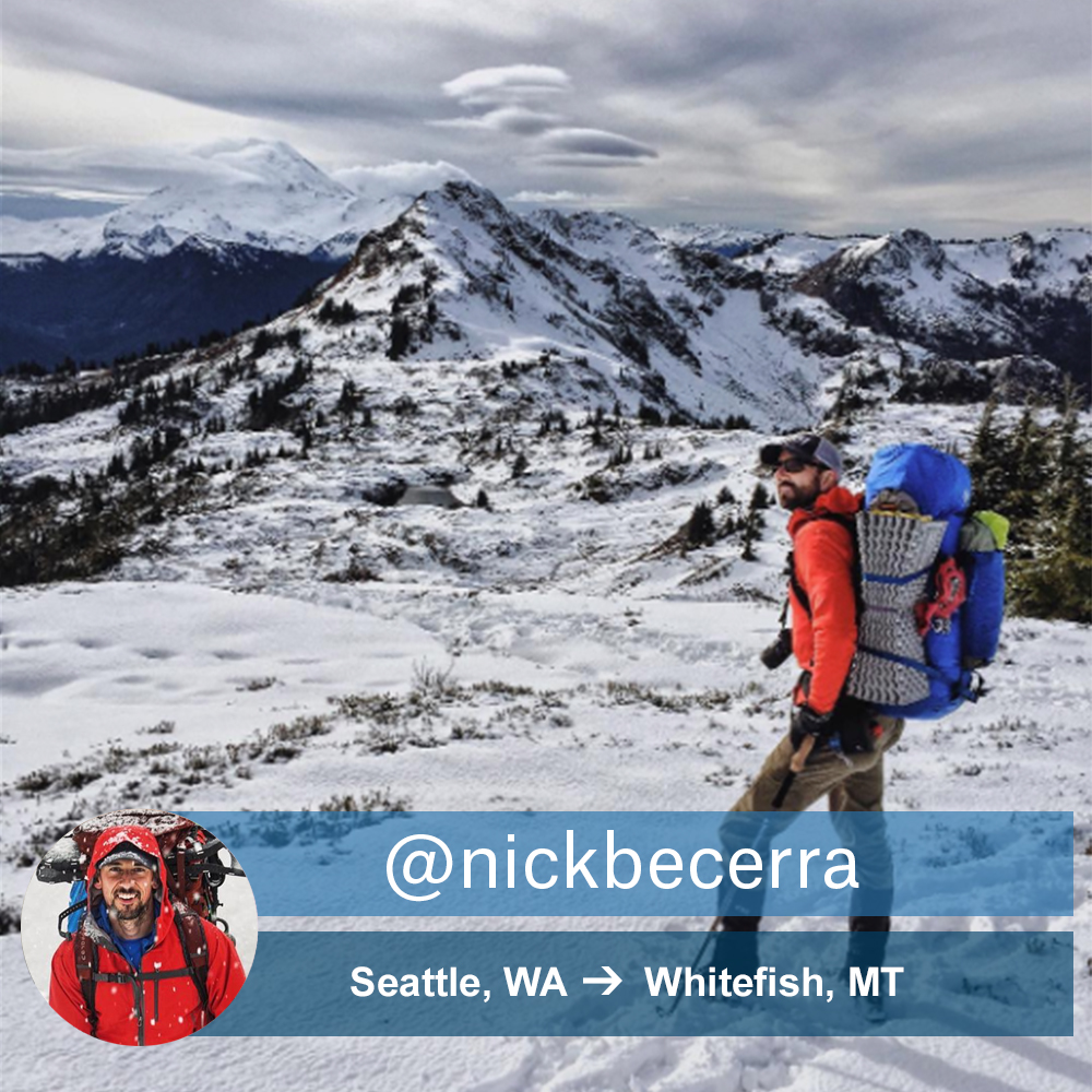 Picture of Weekend Wanderer Nick Becerra