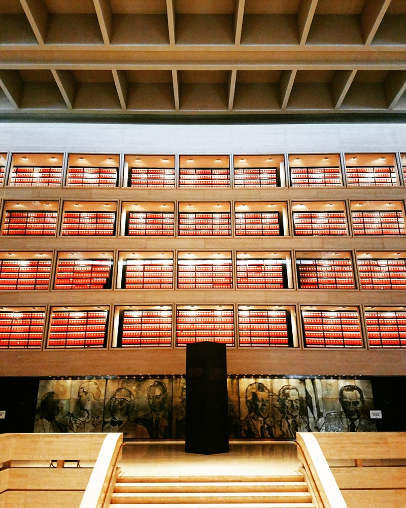 While food was our top agenda on our #weekendwanderer trip a tour of the LBJ LIBRARY AND MUSEUM definitely was a highlight to learning more about and experiencing the great city of Austin - this stunning library houses so much history and is a must stop.