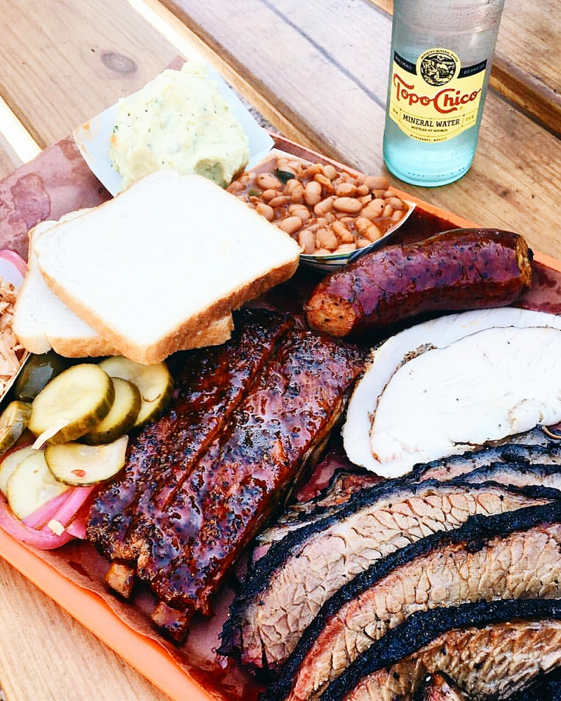 It's not a trip to Austin without a stop at BARBECUE - the perfect end to our #weekendwanderer trip was lunch at LA BARBECUE and the wait is totally worth it - thanks Rachel for the tip - we had an amazing time in this incredibly colorful and culinary exciting city and can't wait to fly back!