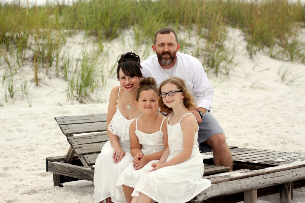 Family at Pensacola Beach