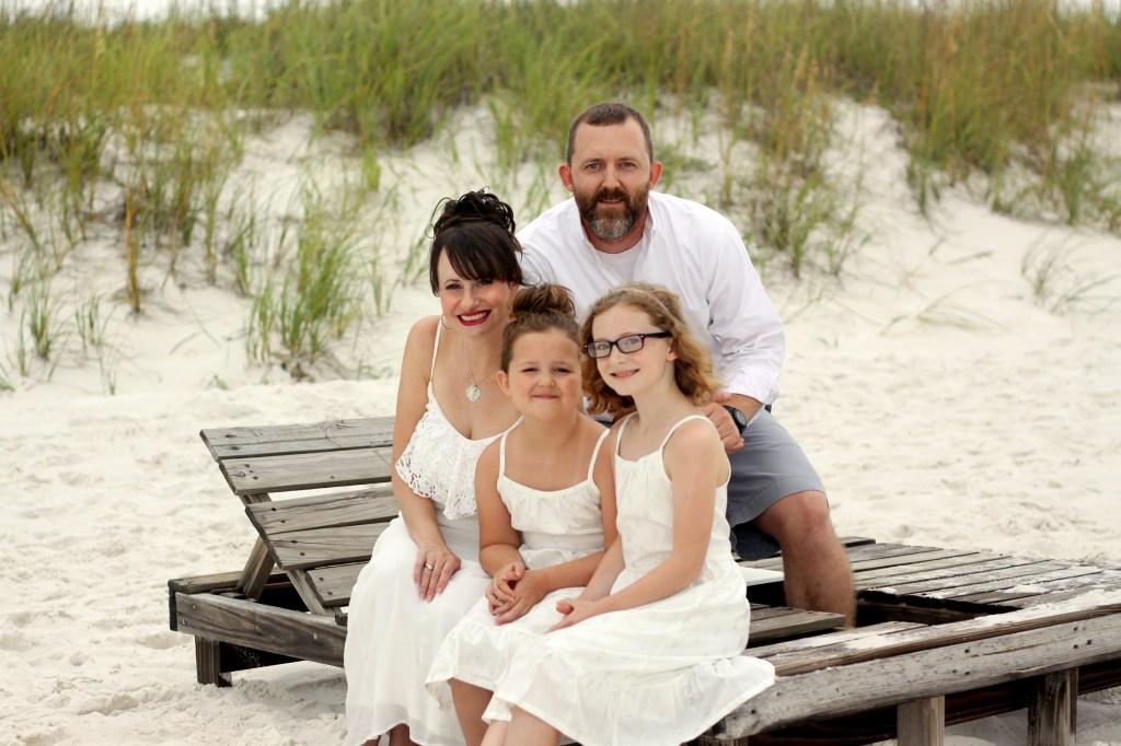 Family at Pensacola Beach