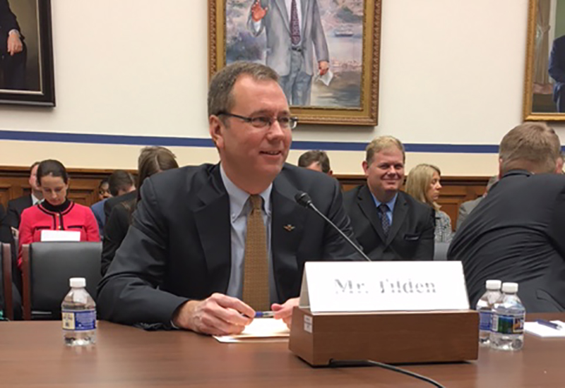 Brad Tilden testifies on ATC reform