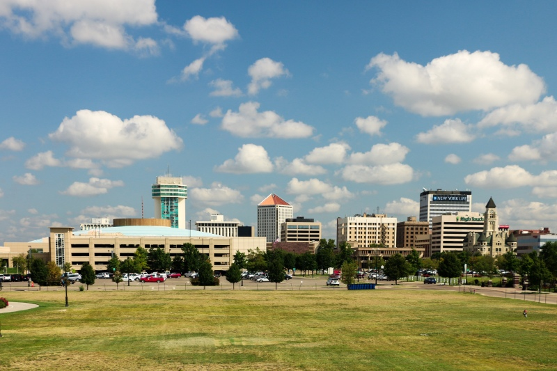 Photo of Wichita skyline