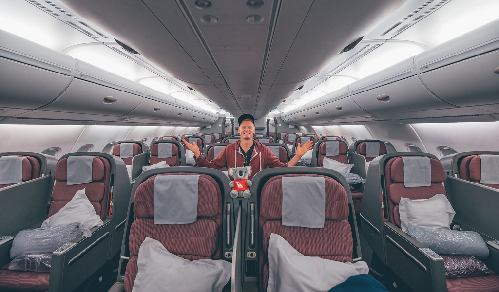 Review: A 15-hour journey flies by, thanks to business class