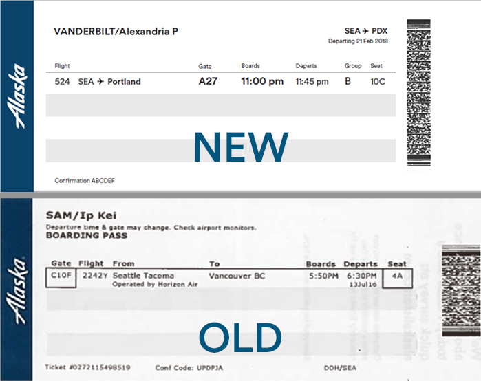 Alaska Simplifies Boarding Process Alaska Airlines Blog