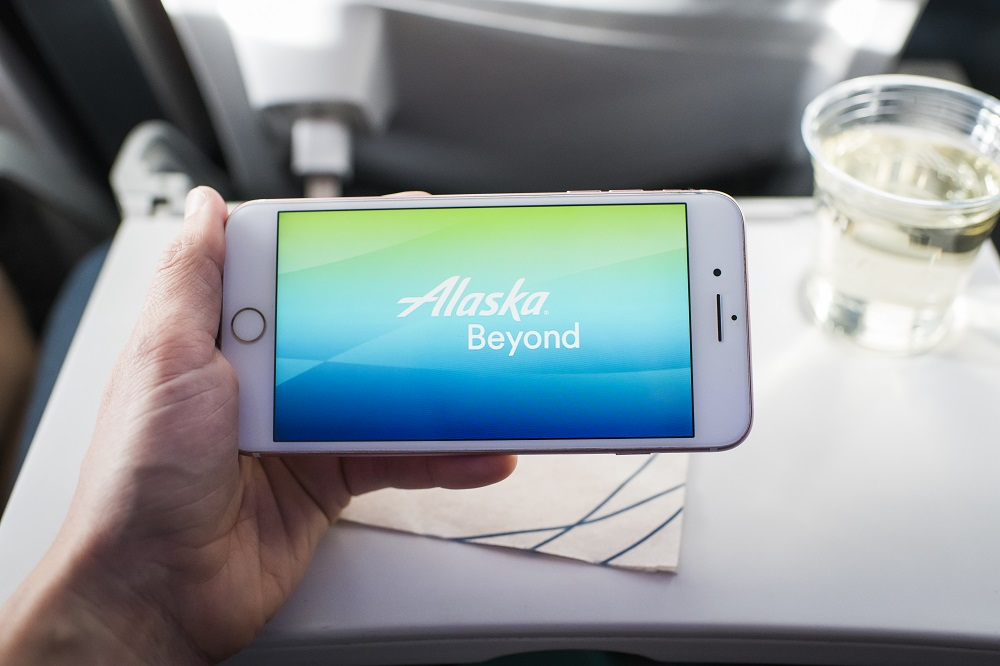 How to access Alaska Airlines movies and TV shows on your