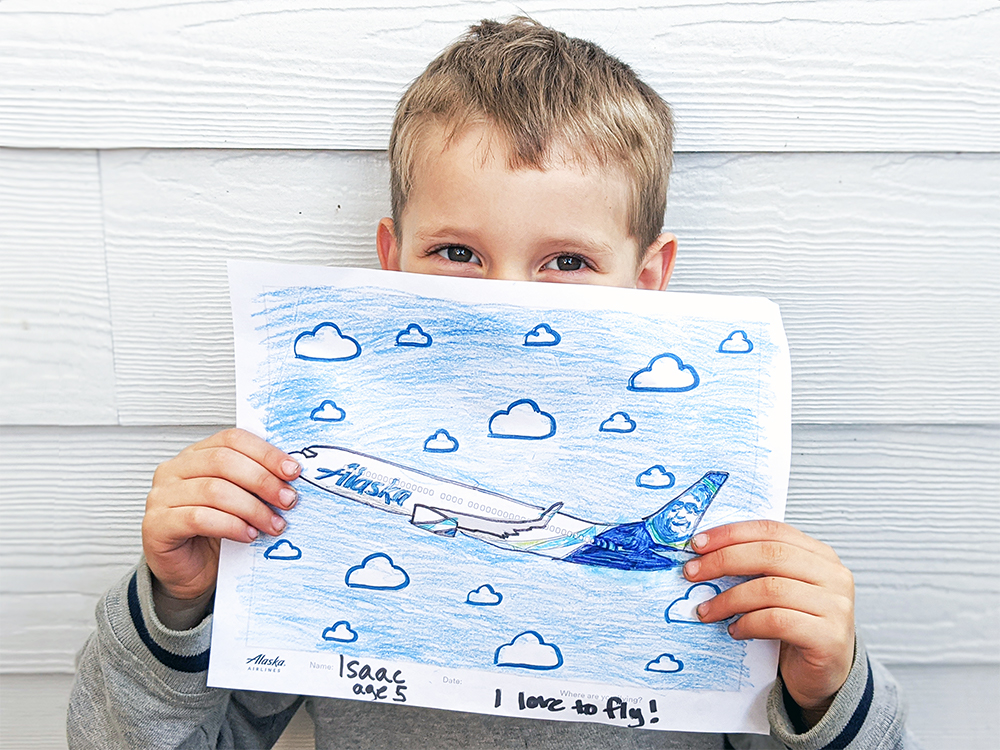 - 6 Alaska Airlines Coloring Pages You Can Color At Home – Alaska Airlines  Blog